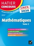 Roland Charnay et Michel Mante - Mathématiques Tome 2 - CRPE 2020 - Epreuve écrite d'admissibilité.
