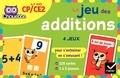 Lucie Domergue et Muriel Iribarne - Le jeu des additions CP/CE2 - 4 jeux pour s'entraîner en s'amusant ! Avec 120 cartes.
