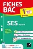 Séverine Bachelerie-Marteau et Sylvie Godineau - Fiches bac SES 1re générale (spécialité) - nouveau programme de Première (2020-2021).