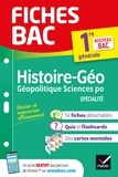 Franck Rimbert et Cécile Gaillard - Fiches bac Histoire-géographie, Géopolitique, Sciences politiques 1re (HGGSP) - nouveau programme Première générale.