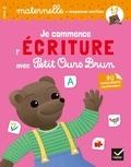 Françoise Perraud et Florence Doutremépuich - Je commence l'écriture avec Petit Ours Brun Maternelle moyenne section - Avec 90 autocollants repositionnables !.