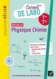 Karine Médina-Moretto et Kévin Caiveau - Physique chimie 1re/Tle Hélium - Carnet de labo élève.