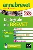 XXX - Annales du brevet Annabrevet 2022 L'intégrale du brevet 3e - pour préparer les 4 épreuves écrites et l épreuve orale.