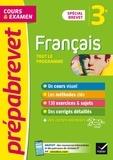 Christine Formond et Louise Taquechel - Prépabrevet Français 3e Brevet 2022 - cours, méthodes et entraînement.