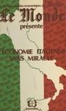 Le Monde - L'économie italienne sans miracle.