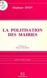 Stéphane Dion et Michel Crozier - La politisation des mairies.