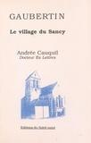 Andrée Cauquil - Gaubertin - Le village du Sancy.