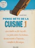 Céline Vence et François Brunet - La cuisine (1).