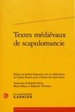 Stefano Rapisarda et Charles Burnett - Textes médiévaux de scapulomancie.