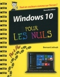 Bernard Jolivalt - Windows 10 pas à pas pour les nuls.