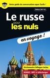Andrew Kaufman et Serafima Gettys - Le russe pour les nuls en voyage !.