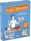 Lionel Paillès - Le kit du papa débutant - Coffret livre + cahier + 3 cadres photos aimantés.