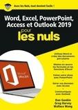 Dan Gookin et Greg Harvey - Word, Excel, Powerpoint, Access & Outlook pour les nuls.