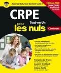 Françoise Le Brozec et Laurent Breitbach - CRPE Pour les nuls - Tout-en-un.