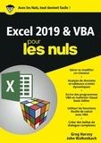 Greg Harvey et John Walkenbach - Excel 2019 & VBApour les nuls            .