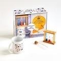 Sandra Mahut - Tea Time à Oxford - Avec 1 trio de sabliers, 1 tube infuseur en verre et 1 mug.