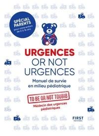 To be or not toubib - Urgences or not urgences.
