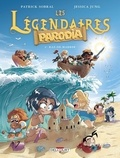 Patrick Sobral et Jessica Jung - Les Légendaires Parodia Tome 4 : Raz-de-marrer.