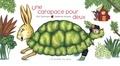 Eric Sanvoisin et Delphine Jacquot - Une carapace pour deux.