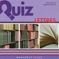 Stéphanie Bouvet et Michel Noir - Quiz lettres.