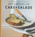Ilona Chovancova - Pour le déjeuner, c'est cake + salade.