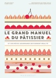 Mélanie Dupuis et Anne Cazor - Le grand manuel du pâtissier - Et vos rêves gourmands deviennent réalité.