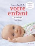 Anne Bacus - Le grand guide de votre enfant de 0 à 3 ans.