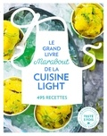 Marabout - Le grand livre Marabout de la cuisine light - 495 recettes.