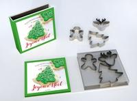 La fabrique à biscuits : Noël. Avec 3 emporte-pièces