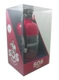 Natacha Arnoult - SOS apéro - Coffret avec 1 extincteur à boisson (1,5 L).