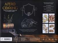 Coffret Apéro is coming. Avec 2 couteaux haches et 1 planche en bois gravée