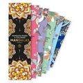 Marabout - Marques-pages à colorier mandalas.