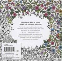 Jardin secret. Carnet de coloriage