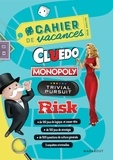 Hasbro - Cahier de vacances pour adultes Cluedo, Monopoly, Trivial Pursuit, Risk.