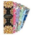 Marabout - Marque-pages à colorier Mandalas.