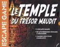 Marabout - Boîte de jeu Escape Game - La malédiction du temple.