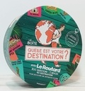 Le Routard - La boîte Quelle est votre destination ? - 800 questions - 5 indices - 40 destinations pour découvrir une destination mystère. Avec 1 livret, 240 cartes et 1 dé.