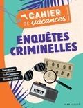 Marabout - Le cahier de vacances pour adultes Enquêtes criminelles.