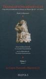 Claudio Galderisi - Translations médiévales, cinq siècles de traductions en français au Moyen-Age (XIe-XVe siècles) - Volume 2, Tome 1 et 2.
