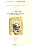 Arnaud Zucker - Encyclopédire - Formes de l'ambition encyclopédique dans l'Antiquité et au Moyen Age.