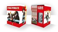 Atsushi Okubo - Fire Force  : Coffret Tomes 1 à 5 - Avec un thermos.
