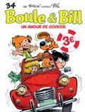 Laurent Verron et Jean Roba - Boule & Bill Tome 34 : Un amour de cocker.