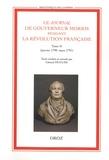 Gérard Hugues - Le journal de Gouverneur Morris pendant la Révolution française - Tome 2, janvier 1790 - mars 1791.