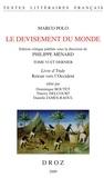 Marco Polo - Le devisement du monde - Tome 6, Livre d'Ynde - Retour vers l'Occident.