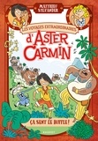 Les voyages extraordinaires d'Aster Carmin : Ca sent le buffle / Matthieu Sylvander | Sylvander, Matthieu (1969-....)
