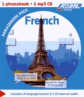 Estelle Demontrond-Box - French Phrasebook Pack. 1 CD audio MP3
