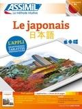 Catherine Garnier et Toshiko Mori - Le japonais Débutants & faux-débutants B2 - Pack applivre : 1 application et 1 livret de 60 pages.