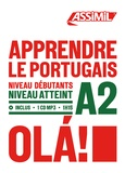 Ana Braz - Apprendre le portugais Niveau débutants A2. 1 CD audio MP3