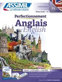 Anthony Bulger - Superpack Perfectionnement Anglais - 1 livre + 4 CD audio + 1 clé USB.