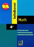 Philippe Depresle et Angélique Skandalis - Math 4ème.
